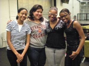 TORCH Alumni (Bernadette '09, Jennifer '05, Francis '06 and Meisha '09)